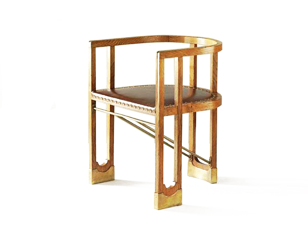 A Modern Armchair By Austrian Furniture Designer Hans Vollmer.