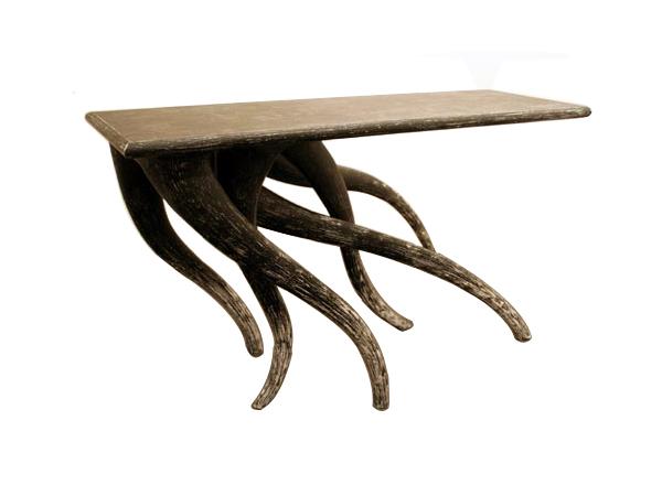 Organic r.n.i. table designed by Korean furniture designer Chul An Kwak