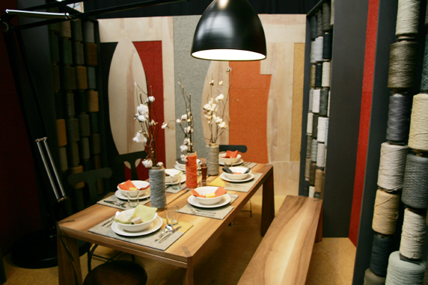 2Michaels table design for DIFFA Dining by design at the 2011 New York Architectural Digest Magazine Home Design Show