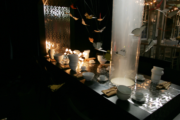 Tug Studio table design for DIFFA Dining by design at the 2011 New York Architectural Digest Magazine Home Design Show