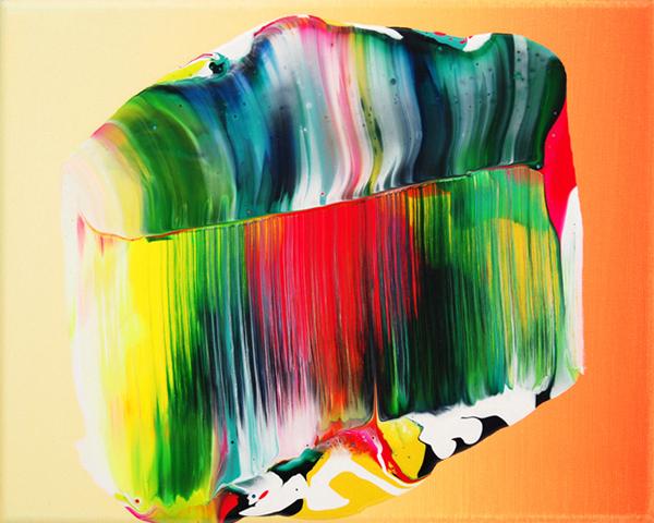 Neon paintings by Berling based artist Yago Hortal.