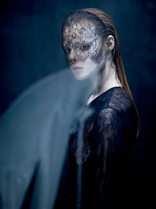 Polish fashion model Magdalena Frackowiack for Dansk Magazine.