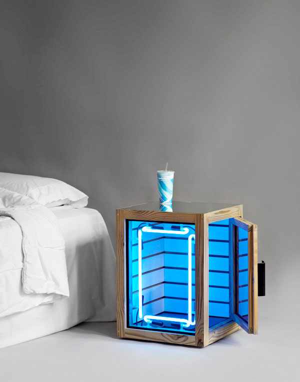 The Pin-Up Nightstands for Phillips de Pury and Pin-Up Magazine.