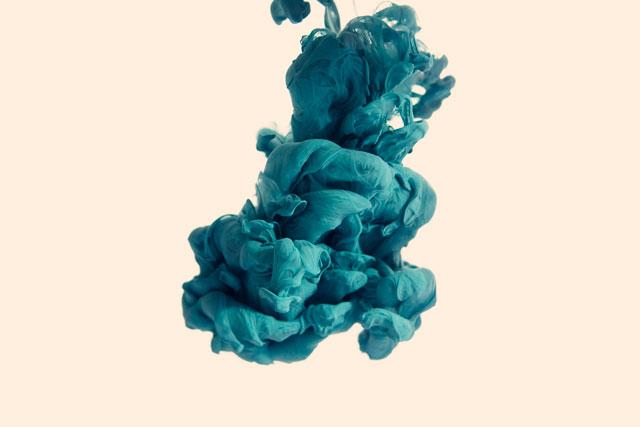 Disastro Ecologico ink underwater art Italian graphic designer and photographer Alberto Seveso.