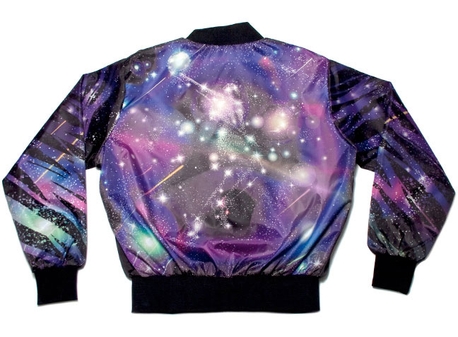 A men's sport jacket designed by Kervin Brisseaux.