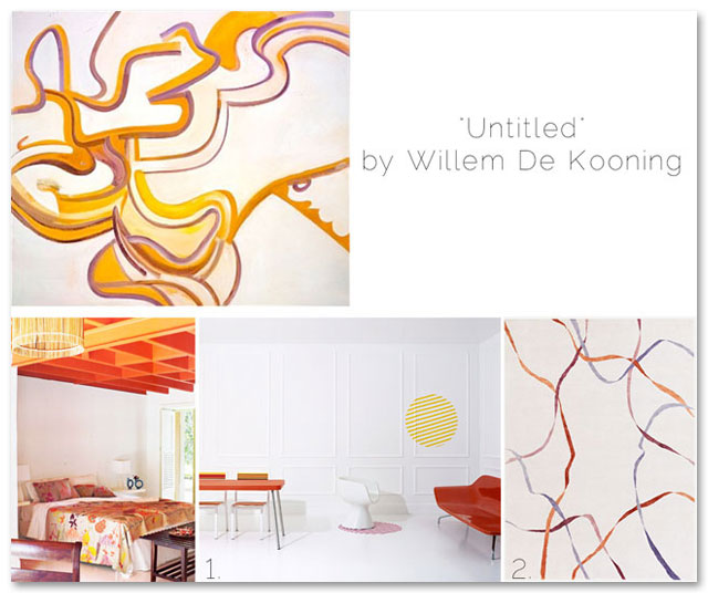 Artworks that Look Like Interiors design blog by Lauren Stern