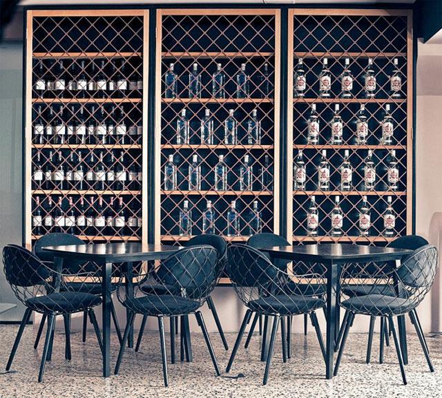 Interiors As Aperitivo Bar By Nika Zupanc The Bohmerian