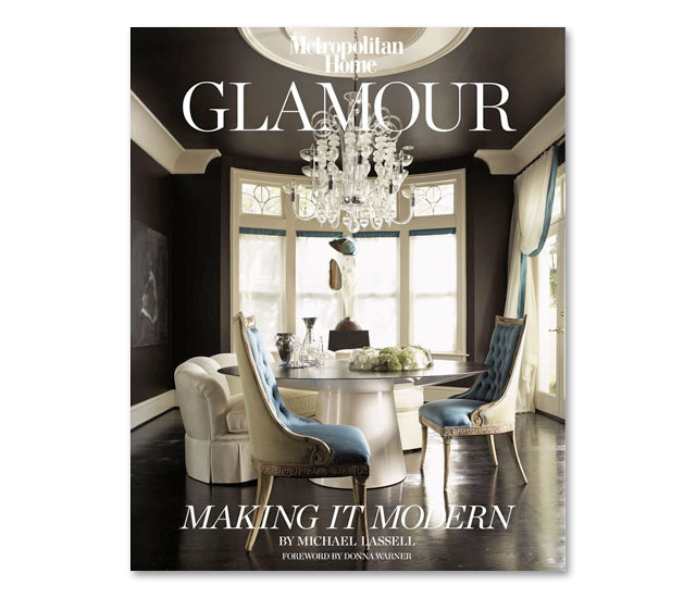 Design library glamour making it modern by michael for Interior house design book