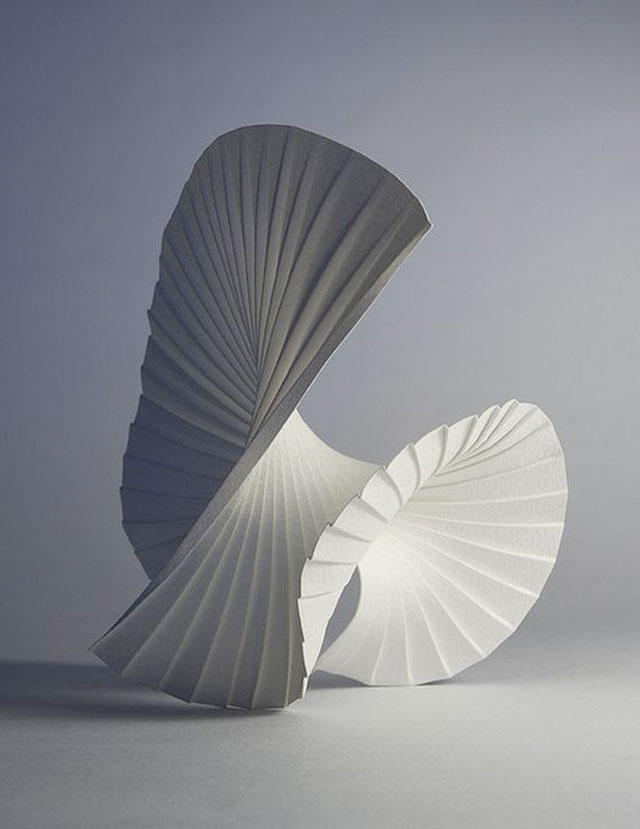 Three dimensional paper art by english sculptor Richard Sweeney.