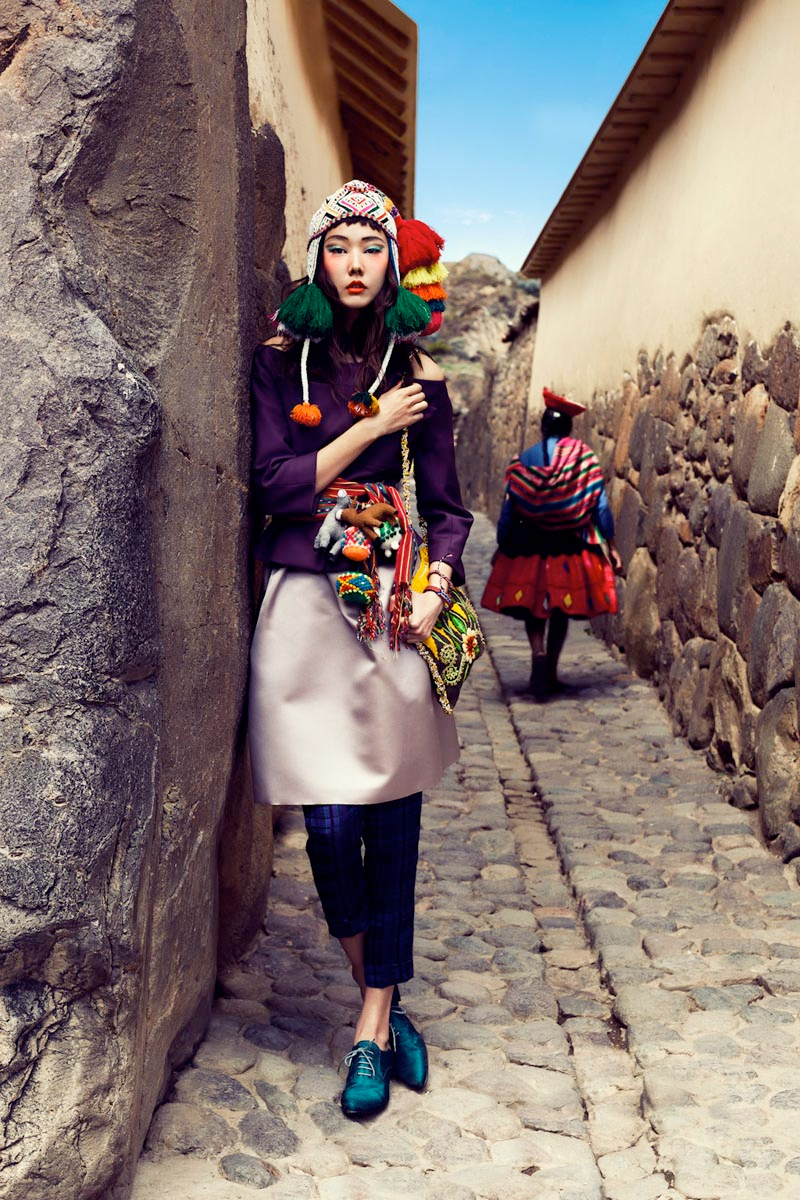 Colors Of Peru Fashion Photography Featuring Han Hye Jin In The July 2012 Summer