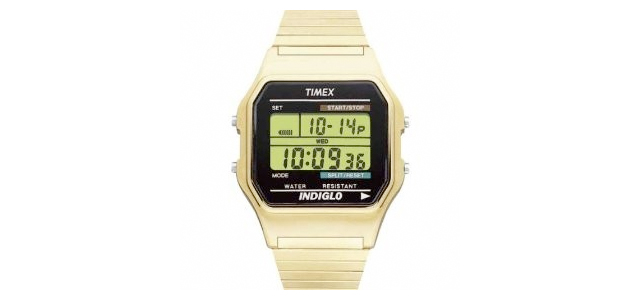 Men's Gold-Tone Timex Watch