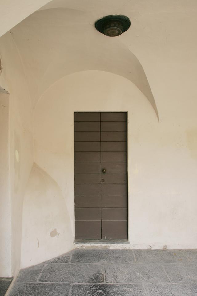 Italian wood door.