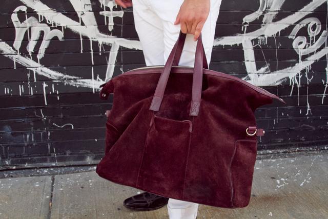 Cole Hann men's fashion handbag.
