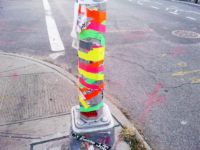 Art and design inspiration on the streets of Brooklyn's Williamsburg, Brooklyn.