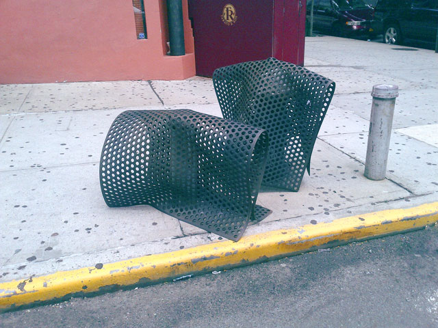 Rubber mats shaped and formed in NYC.